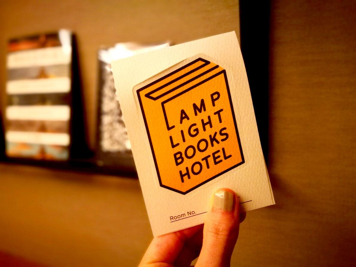 カードキーケース-ランプライトブックスホテル名古屋-Lamp Light Books Hotel Nagoya
