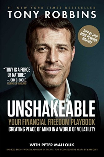 Unshakeable: Your Financial Freedom Playbook-Tony Robbins(トニー・ロビンス)-idobon.com