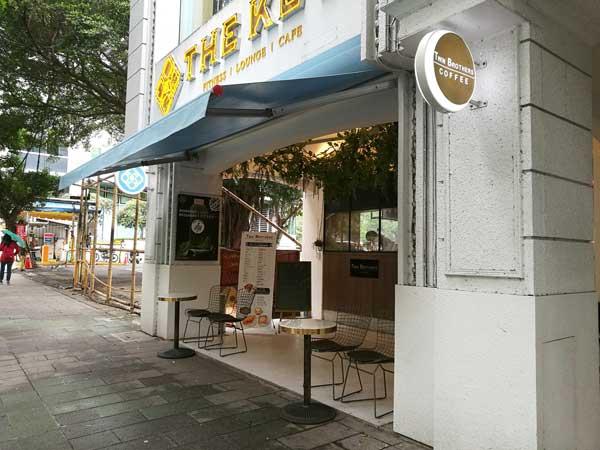 店頭-Twin Brothers Cafe:台北東区でゆっくり読書ができるカフェ-idobon.com